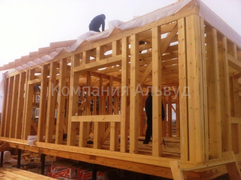 цена на деревянные каркасные дома компания альвуд г иркутск